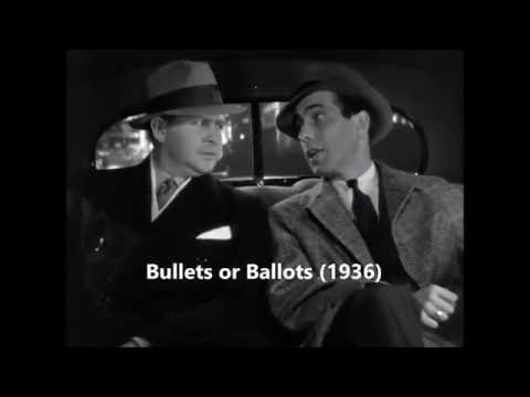 Bullets or Ballots 1936 ~Humphrey Bogart.  Barton MacLane.
