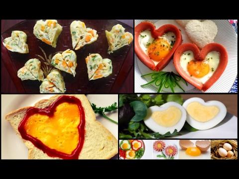 Món Ăn Ngon - 9 cách làm món TRỨNG TÌNH YÊU tặng người yêu
