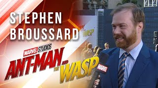 Stephen Broussard at Marvel Studios' Ant-Man and The Wasp Premiere
