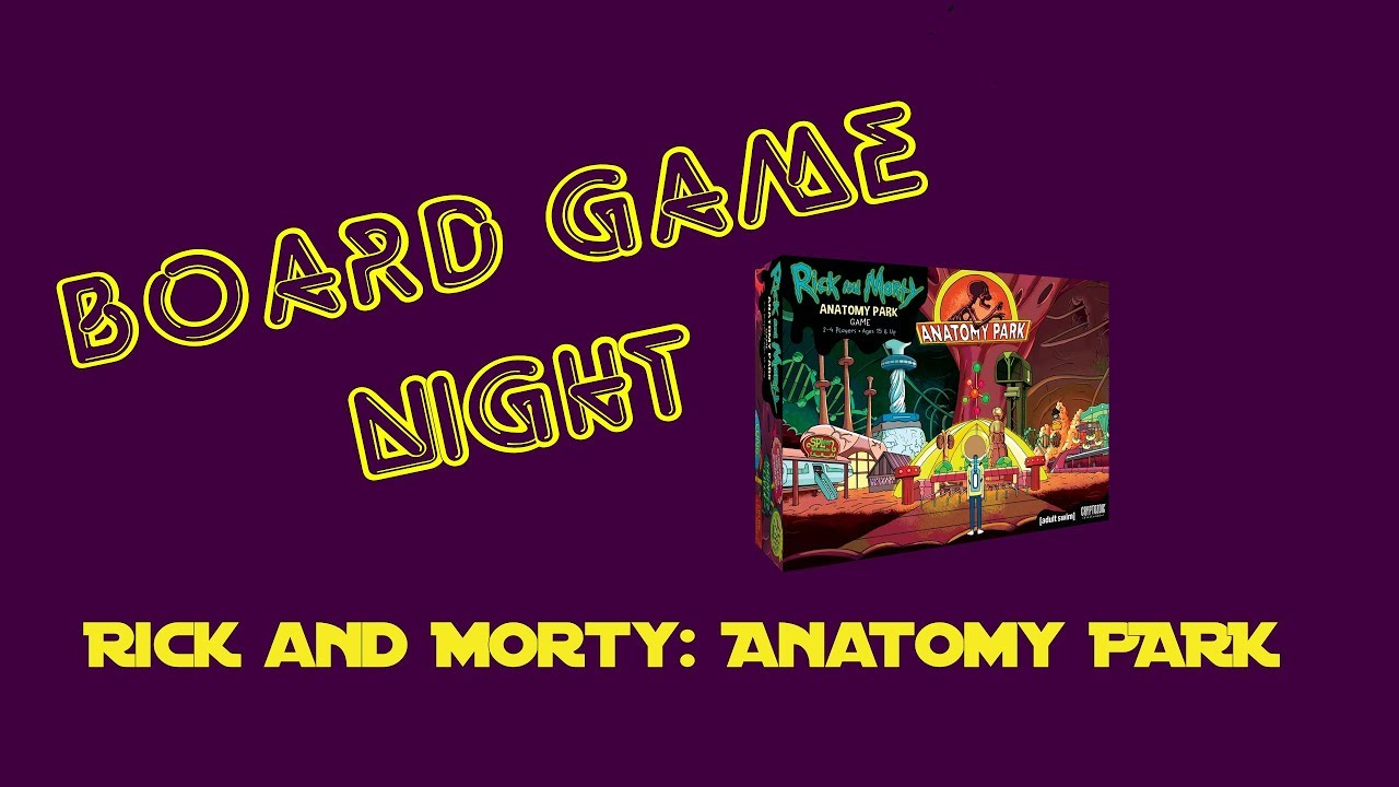 POTG PLAYS RICK AND MORTY ANATOMY PARK