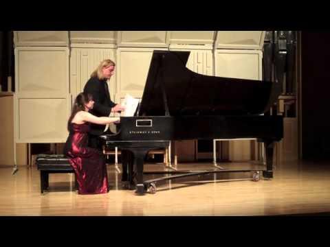 Zheni Atanasova Master's Recital University of Nevada Las Vegas