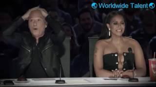 Funniest Judges Moments - America's Got Talent 2016 - Season 11 - (Simon, Heidi, Howie, Mel B, Nick)