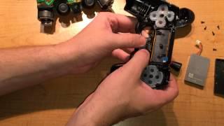 Taking apart a DualShock 4