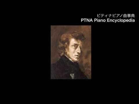 ショパン/ピアノ・ソナタ第1番 第3楽章/演奏:江崎 昌子