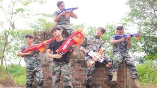 Nerf War: Special Forces & Strike Team Nerf Guns Assassin Team Rescue Lady Nerf movie