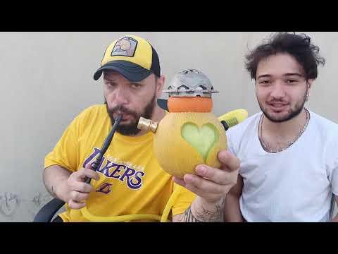2 Tane Meyveden Nasıl Nargile Yapılır
