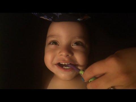How I Brush My Babies Teeth