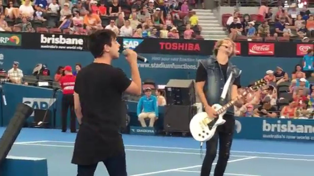 At Sunset Kiss Me - Brisbane International Tennis Centre ...