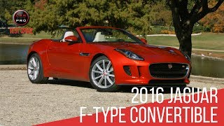 2016 Jaguar F-Type Convertible Test Drive