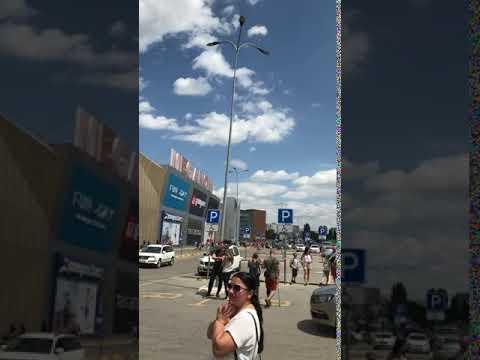 Появилось видео эвакуации людей в Меганоме