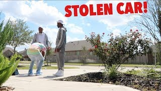 STOLEN CAR PRANK ON PERFECTLAUGHS!!! *SHE CRIES*
