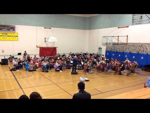 Portland Metropolitan Youth Symphony - Dress rehearsal