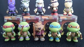 TMNT Complete Kidrobot Collection + Blind Unboxings!!