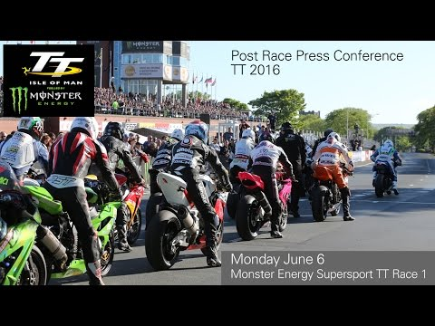 TT 2016 Monster Energy Supersport Press Conference