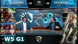 Video Team Liquid Academy vs Cloud 9 Academy | Week 5 NA Academy League Summer 2018 | TLA vs C9A download MP3, 3GP, MP4, WEBM, AVI, FLV Agustus 2018