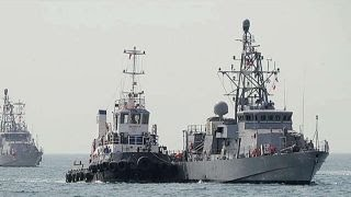 Navy ship fires warning shots at armed Iranian patrol boat