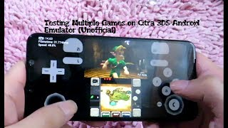 2019 Testing Citra 3DS Android Emulator (Unofficial) Snapdragon 845
