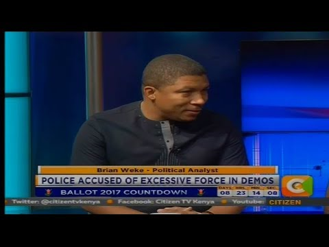 Power Breakfast: Police Accused of excessive force on Demos