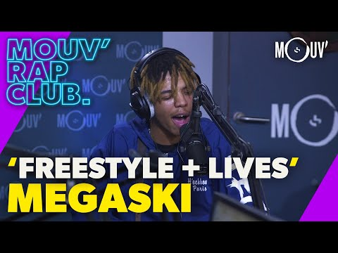 Youtube: MEGASKI : Freestyle et lives (Live @Mouv' Rap Club)