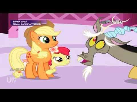 my little pony bahasa indonesia : teman baru fluttershy part 1/4 - youtube