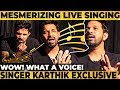 Karthik's LIVE Soulful Singing! Sweet Voice Ever! Fav Songs of 90's Kids | Heart Melting Performance