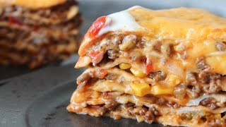 How To Make Tortilla And Meat Sauce