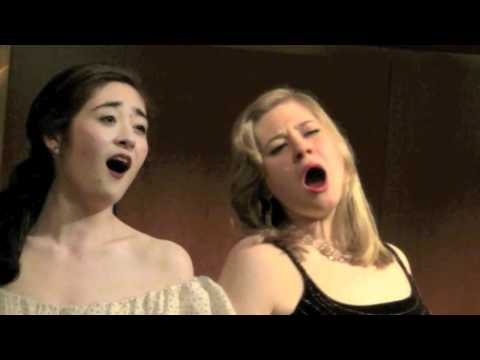"""I bevitori"" Wine Duet (Donizetti) featuring Lilla Heinrich Szasz and Jane Monari - Live"