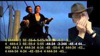 nº 321 Titanic - armonica diatonica.( C) tablatura - mundharmonika lernen