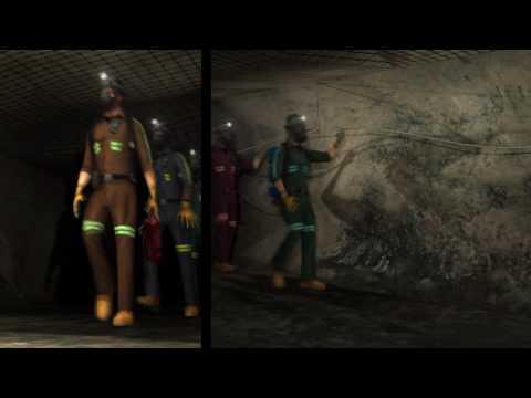 UG mine fire fighting, escape