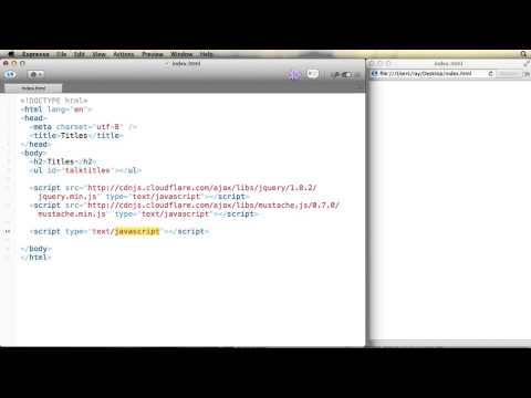Introduction to JavaScript templating with Mustache.js