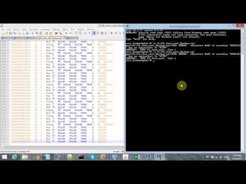 Import Data with unicode UTF8 To PostgreSQL