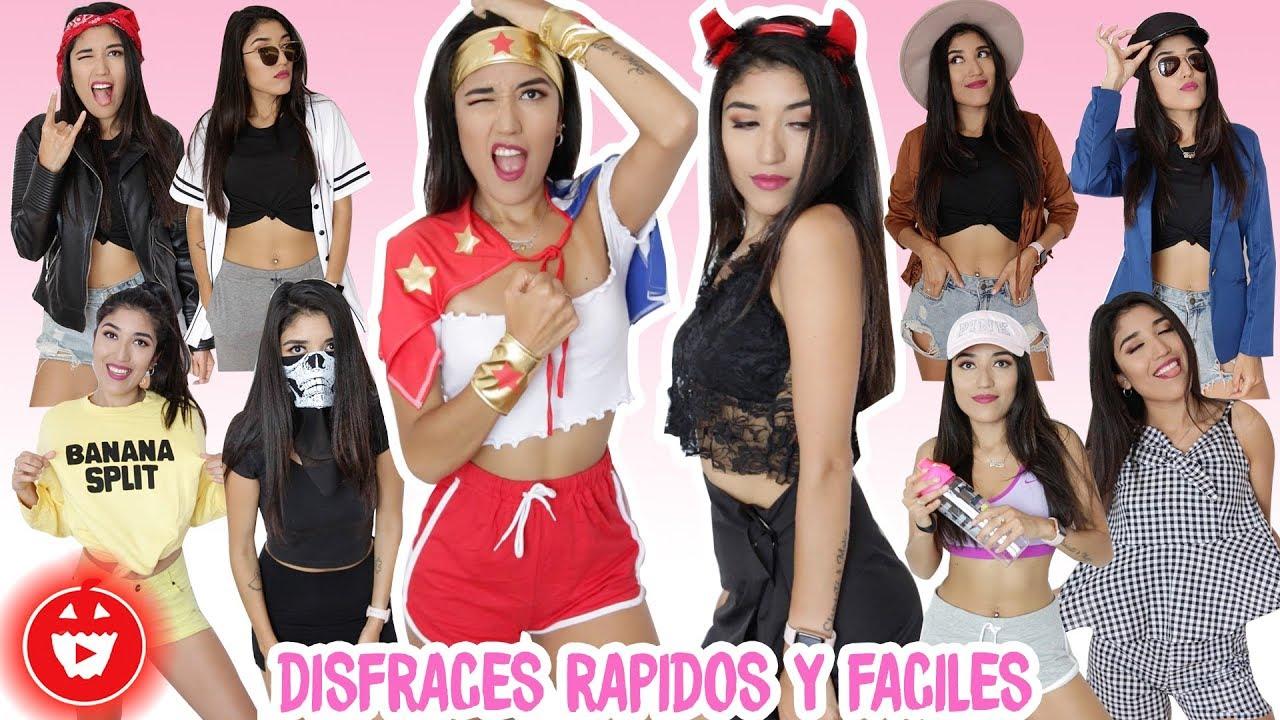 foto de 12 DISFRACES DE ULTIMO MINUTO Especial Halloween YouTube