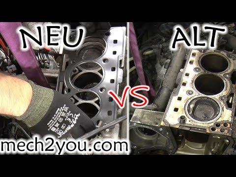 Skoda Fabia Zylinderkopfdichtung tauschen Motor 1.2 BMD Teil 1 / 3 | change cylinder head gasket