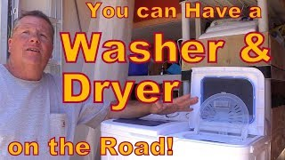 How YOU can Have a Washer and Dryer on the Road