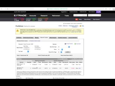 # Trade Binary Options Etrade ★★ Etf Trading Operations