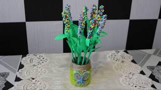 Поделки на 8 марта. Как сделать цветы  своими руками.