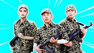 Sao nhập ngũ Mùa 8 - Tập 8 | Nhập ngũ thật là ngầu - Mạc Văn Khoa, Quang Đăng, Mr T