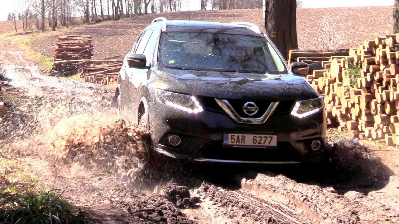 2017 nissan x trail off road driving footage youtube. Black Bedroom Furniture Sets. Home Design Ideas