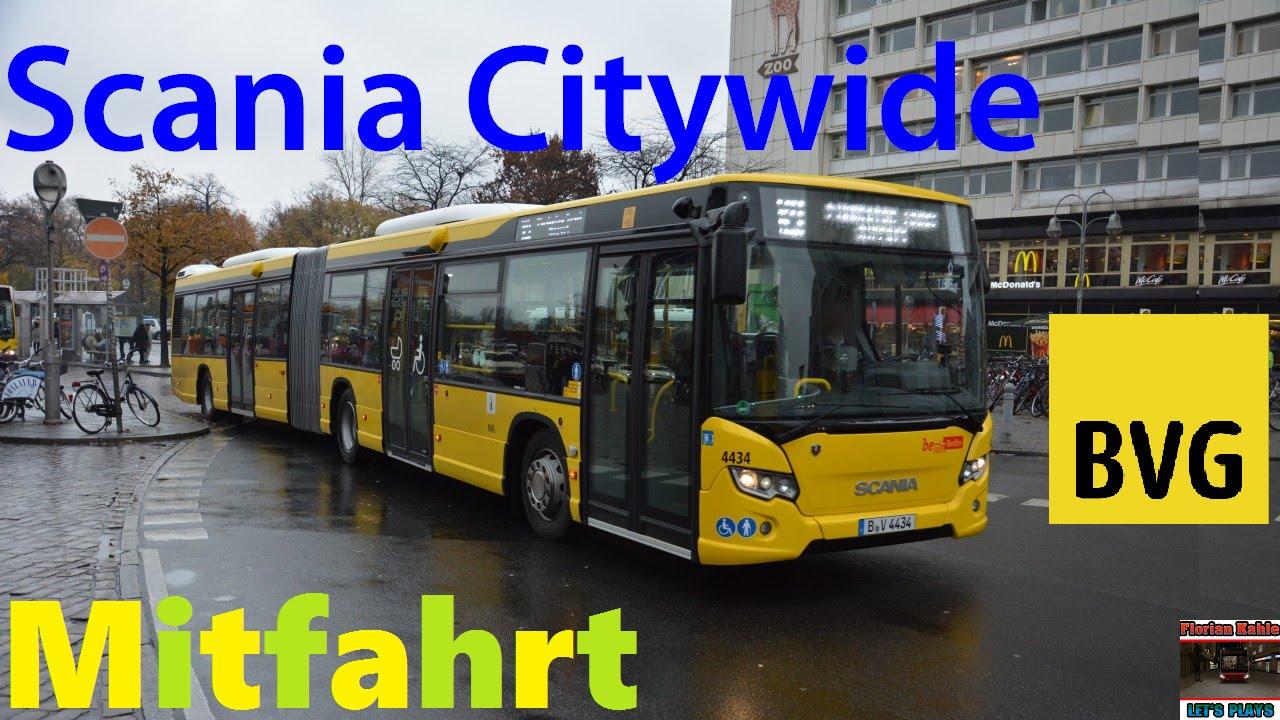 busmitfahrt scania citywide lfa neuer bvg bus omnibushof spandau youtube. Black Bedroom Furniture Sets. Home Design Ideas