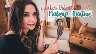 Winter Travel Makeup Routine 💋