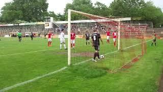 VfR Mannheim - 1. FC Bruchsal / Das 4:1 durch Enis Baltaci