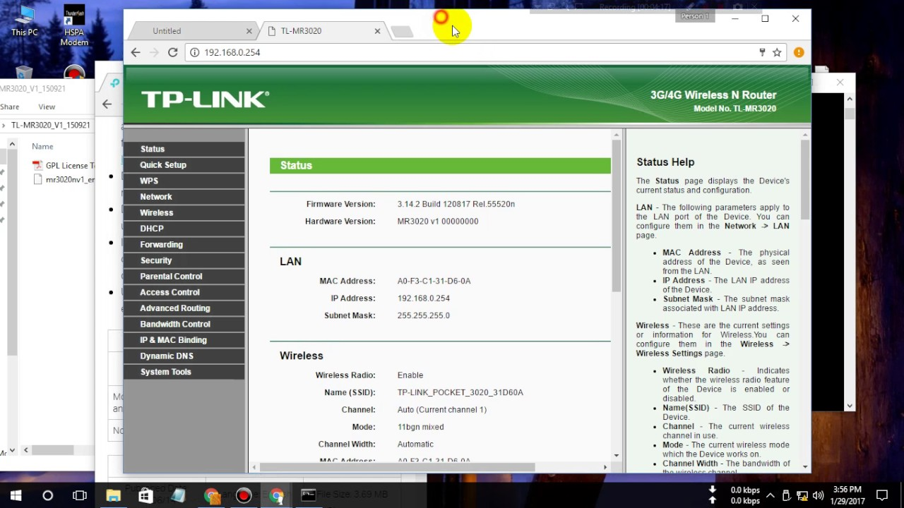 How To Restore TP Link MR3020 Factory Firmware from OpenWRT