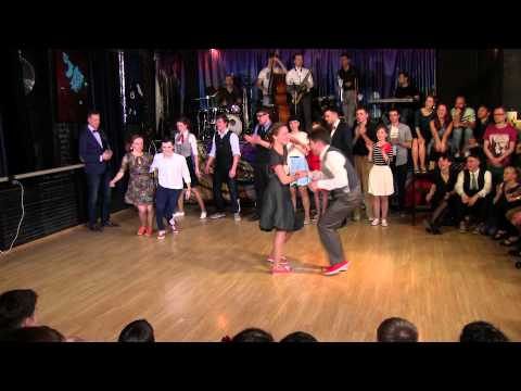Lindy Hop Open Strictly Finals at Russian Swing Dance Championship 2015