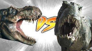 Tyrannosaurus Rex VS Vastatosaurus Rex...Join us in this epic dino ...