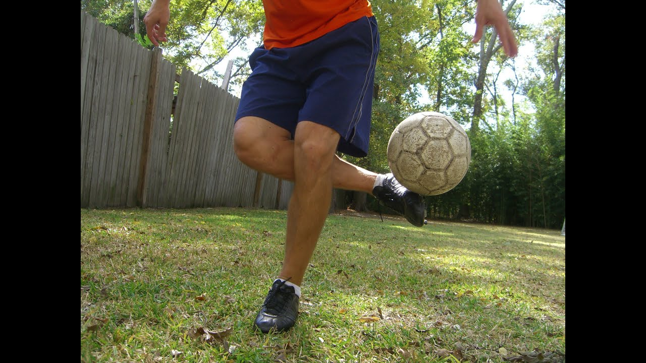 Soccer Tricks Roll Over Plant Foot Pick Up Trick Online Academy