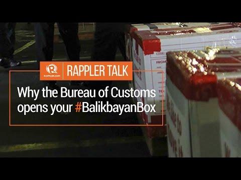 Rappler Talk: Why the Bureau of Customs opens your #BalikbayanBox