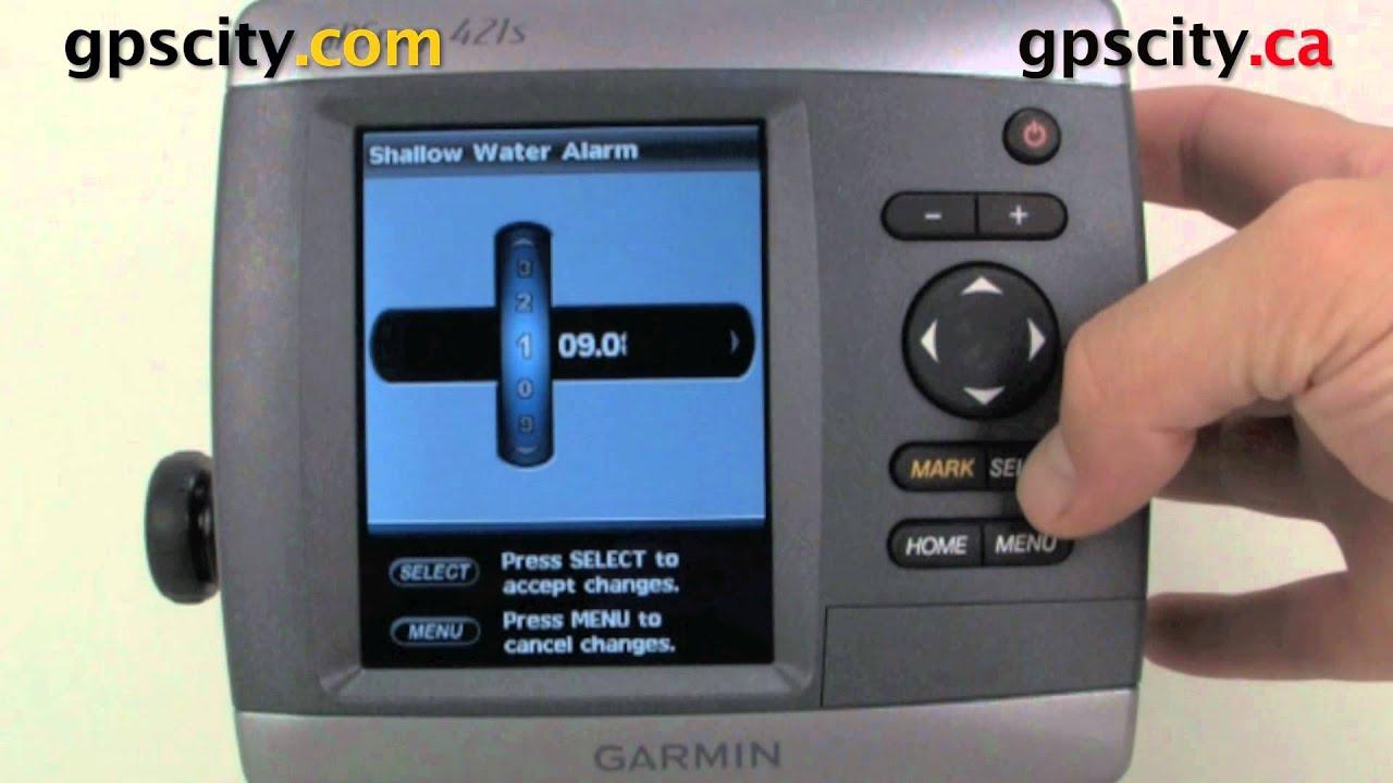 Find Alarm Settings