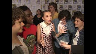'Stranger Things' stars celebrate Emmy nods