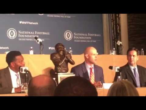 The 2016 Wuerffel Trophy Announcement