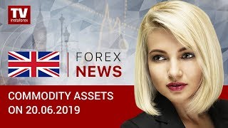 InstaForex tv news: 20.06 .2019: Crude oil and ruble gain ground as expected (BRENT, USD, RUB)